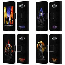 STAR TREK DISCOVERY DISCOVERY NEBULA CHARACTERS LEATHER BOOK CASE FOR SAMSUNG 2