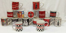 Coca Cola Mug Cup Red Coke Bottle Logo Polar Bear You Pick Various Design Gibson