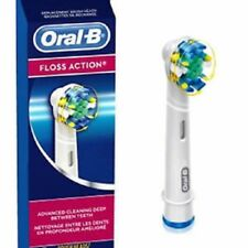 BRAUN ORAL-B FLOSS ACTION ELECTRIC TOOTHBRUSH REPLACEMENT BRUSH HEADS color ring