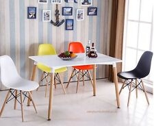 Dining table and 4 chairs retro  DSW Eiffel-0--