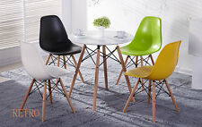 Round Dining table and 4 chairs retro  DSW Eiffel=