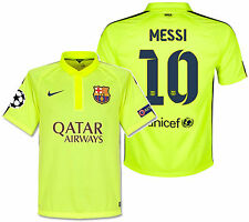 NIKE L. MESSI FC BARCELONA CHAMPIONS LEAGUE AUTHENTIC 3RD MATCH JERSEY  2014 15 f351fddfe