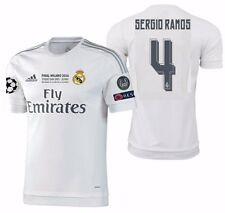 5d48cd4ca ADIDAS SERGIO RAMOS REAL MADRID AUTHENTIC FINAL UCL MATCH JERSEY 2015 16