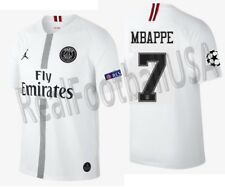 Jordan K.Mbappe Psg Paris Saint-Germain Champions League Away Jersey 2018/19