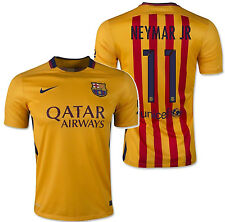 a3986ce25d1 NEYMAR JR 5 AWAY Shirt Printing Name Number Set BARCELONA ...