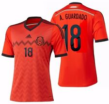 267f761a8 ADIDAS ANDRES GUARDADO MEXICO AWAY JERSEY FIFA WORLD CUP BRAZIL 2014
