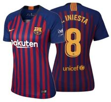 Nike Andres Iniesta FC Barcelona MUJER Home Jersey 2018/19