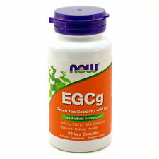 NOW Foods EGCg Green Tea Extract 400mg 90 or 180 vegan capsules