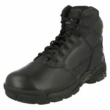 Ladies Magnum Black Leather Lace Up Boots- Stealth Force 6.0 - Great Price.