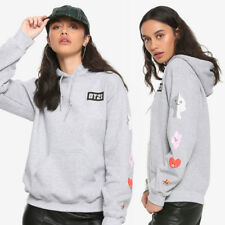 NWT Official BT21 BTS Hot Topic Hoodie Plush Line Friends Sweatshirt - SOLD OUT