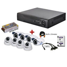 8 Channel 2MP AHD 1080P CCTV Recorder P2P FULL HD