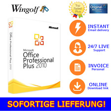 MS Office 2010 - 2013 Pro Plus, 1/2/3/4/5 PC, 32&64 Bits, Produktkey per mail