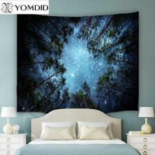 Tapestry Forests Wall Hanging  Boho Bedspread  Blanket Beach Towel Picnic Table