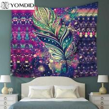 Mandala Tapestry Wall Hanging  Home Decor Hippie feather Beach Towel Throw Towel