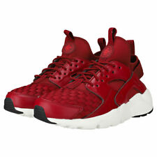 NIKE AIR HUARACHE RUN ULTRA SE MAROON TRAINERS 875841-602
