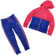 58cf7464308e9 Adidas X24755 Young Knit Suit Women Girl Tracksuit Pink Size Small ...