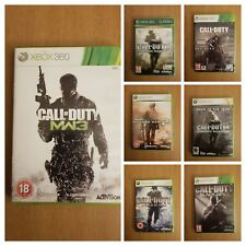Call of Duty COD XBOX 360 Assorted Games Mint Condition - Fast Delivery