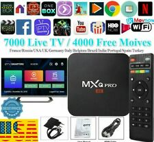 MXQ Pro 4K 64Bit Android 7.1 Quad Core Smart TV Streamer Box KODI 18  2GB+16GB
