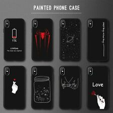 Animal Love Heart Soft TPU Silicone Cases for iPhone 5 S SE X Phone Case For