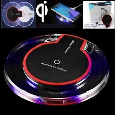 Qi Fast Wireless Phone Charger Charging Pad For Galaxy S6 S7 Edge S8 S9 Plus