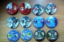 All LEGIA Warsaw Poland eurocups match badges 1956 - 2016...