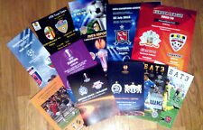 2015 - 2016 EUROCUPS MATCH PROGRAMMES EL UPDATED JANUARY 2019 See description!
