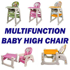 Uk S Best 3 In1 Baby High Chair Portable Toddler Table