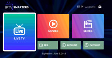 IPTV Smarters Application Smart TV Channels Android 4K FHD HD SD M3U MAG VLC IOS