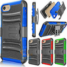 I Phone 5/ I Phone 6 Advanced Armor Hybrid Stand Case with Holster