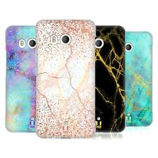 HEAD CASE DESIGNS GLITTERY MARBLE PRINTS HARD BACK CASE FOR HTC PHONES 1