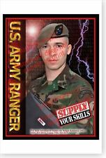 US Army Rangers 2004 Operate With Us Medic Specialist Poster