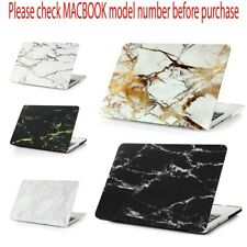 Marble Rubberized Hard Shell Case Cover Skin for Apple MacBook Air Pro Retina