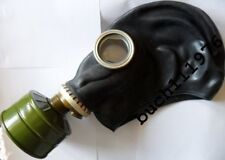 RUSSIAN RUBBER GAS MASK GP-5 Respirator Black Military new size 0,1,2,3