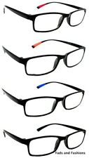 2 PAIRS Bendy TR90 S/Sighted Myopia Distance GLASSES (NOT READING GLASSES) NG9