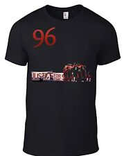 Liverpool FC Hillsborough Justice T Shirt LFC Never Walk Alone 96 YNWA anfield B
