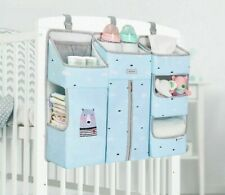 Portable Baby Crib Organizer Bed Hanging Bag For Baby Essentials Diaper  Storage
