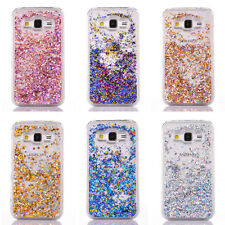 Flowing Bling Glitter Liquid Quicksand Hard Case for Samsung Galaxy S9/8+ S7/6