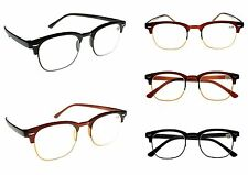 TN32 Bendable TR90 Fashion Unisex Half Frame Retro Flexible 2018 Reading Glasses