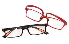 RG9/7 Ultra-Lite Bendable TR90 Material 2019 Reading Glasses in Black or Red