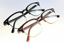 TN32 Bendable TR90 Fashion Unisex Half Frame Reading Glasses+1.0+1.5+2.0+2.5