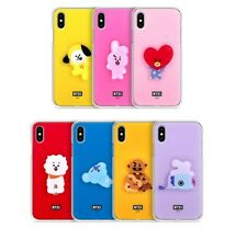Official BT21 Acrylic Jelly Phone Case Cover For iPhone X XS 8 7 Plus Kpop BTS