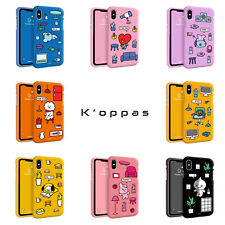 Official BT21 Soft Jelly Phone Case Cover For iPhone X XS MAX XR 8 7 Kpop BTS