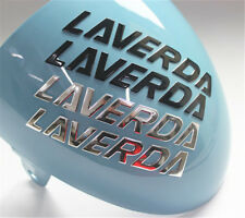 Motorcycle Emblem Badge Decal 3D Tank Wheel Logo Sticker For Laverda Sticker