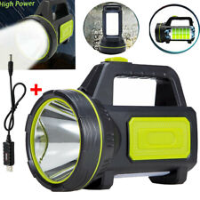 LED Work Light Torch USB Rechargeable Tent Camping Candle Spotlight Hand Lamp