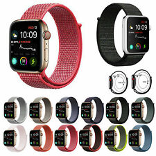 Woven Nylon Sport Loop Wrist Band Strap For iWatch Apple Watch Series 1 2 3 4