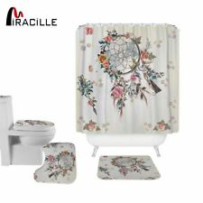 Dream Catcher Modern Shower Curtain Polyester Waterproof Flowers Bath Curtains N