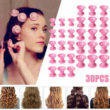 30x Magic Silicone Hair Curlers Rollers No Heat Formers Styling Curling DIY Tool