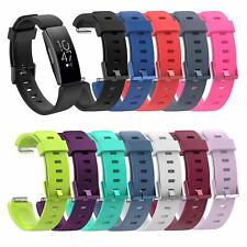 Replacement Classic Silicone Wristband Strap Bracelet Fitbit Inspire Inspire HR