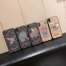 Lovely Dumbo Leather Phone Case Cover For iPhone 6 6S 78 Plus X XS XR XS Max LV9
