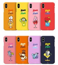 Official BT21 Phone Case Cover Summer Edition For iPhone X XS MAX XR 8 Kpop BTS